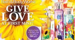 bath and body works free travel size item image