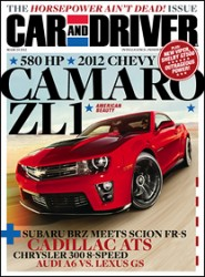 car and driver magazine subscription image