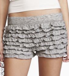 express sale items ruffle shorts image