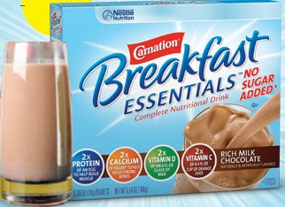 free sample carnation breakfast essentials image