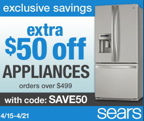Sears appliance coupons printable