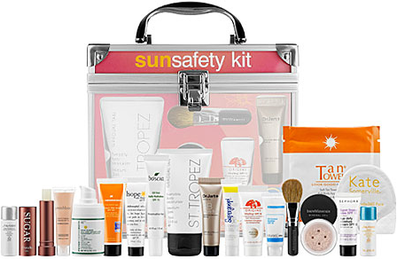 sephora sun safety kit image