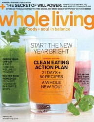 whole living magazine subscription image