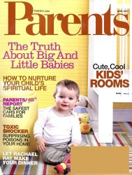 Parents magazine subscription image