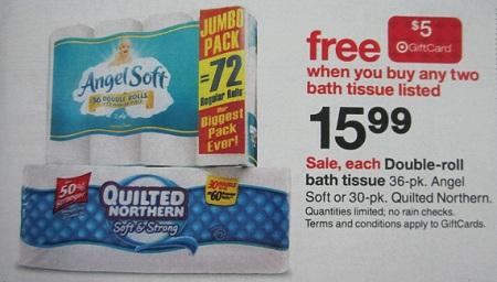 Target Toilet Paper Deal
