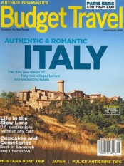 budget travel magazine subscription image