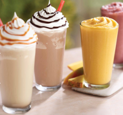 burger king smoothies and frappes image