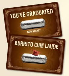 chipotle free food with gift card purchase image