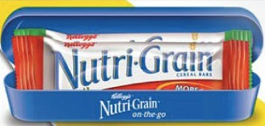 free nutrigrain carrier image
