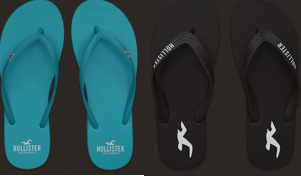 hollister free flip flops with purchase image