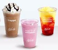 mcdonalds coupon frozen beverages image