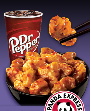 panda express free orange chicken image