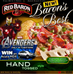 red baron pizza coupon image