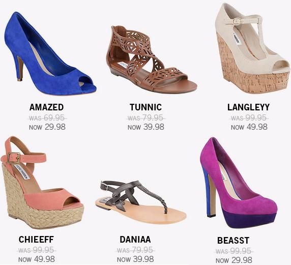 steve madden midday madness shoe sale image