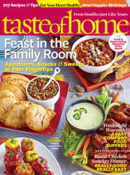 taste of home magazine subscription image