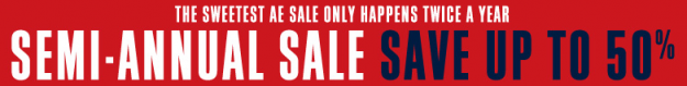 ae semi annual sale