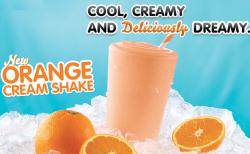 arbys free shake coupon image