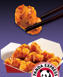 free panda express orange chicken