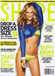 Molly Sims - Shape January 2012
