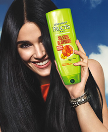 free sample garnier shampoo