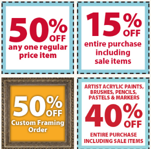 Locations of michaels arts and crafts michaels art for Ben franklin craft store coupons