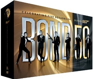 james bond dvd collection amazon
