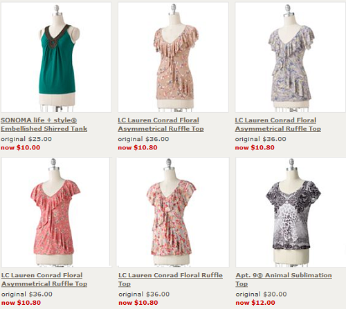 Kohl's Restocked Their Online Clearance! Tons of New Womens