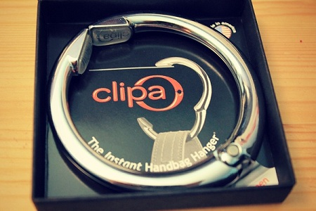 Clipa purse hook review and giveaway