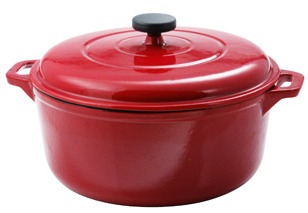 6.5 Quart Enamel Cast Iron Dutch Oven