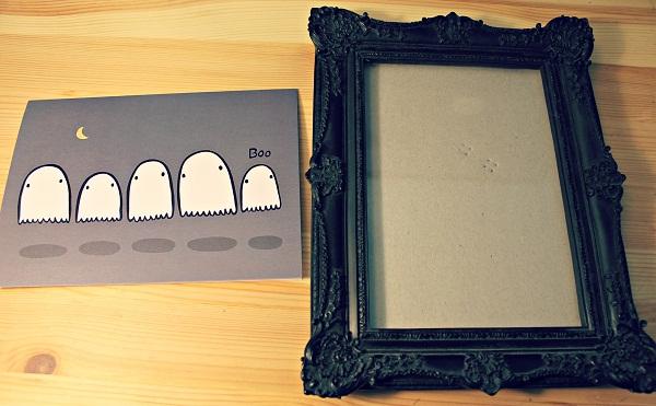 easy halloween decoration- pieces