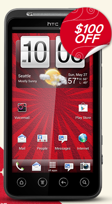 HTC Evo deal