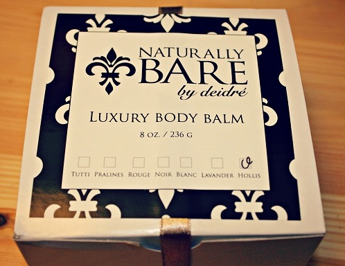 Naturally Bare by deidre body balm