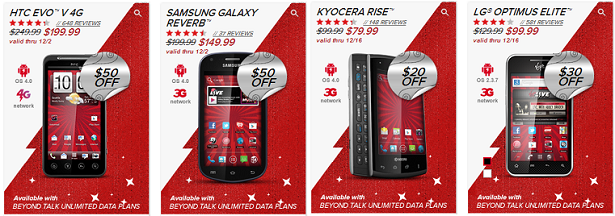 New Permanent Cell Phone Discounts from Virgin Mobile!