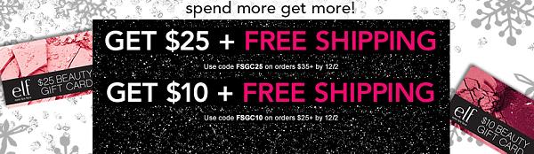 elf spend more get more