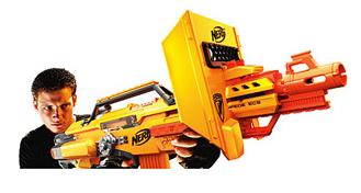 nerf stampede blaster