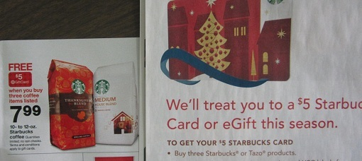 starbucks holiday deal