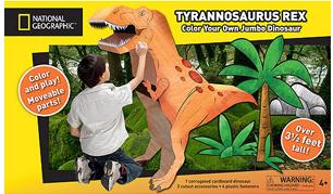 cardboard tyrannosaurus rex