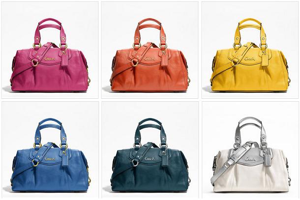 Macys coach handbags sales