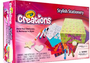 crayola creations stationery
