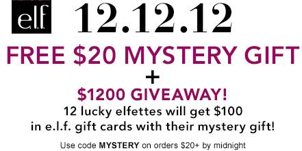 elf free mystery gift