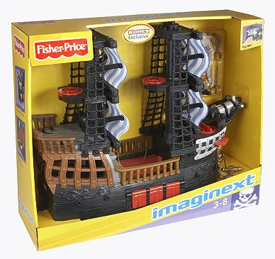 fisher price imaginext pirate ship