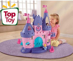 fisher price princess play set