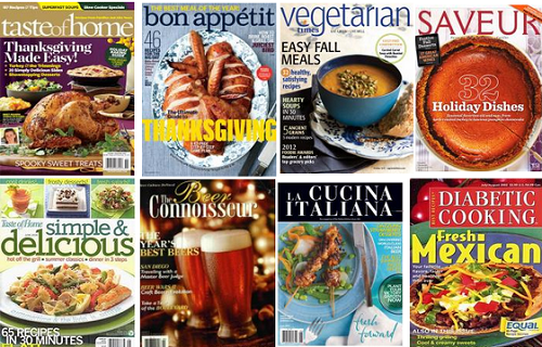 holiday food and cooking magazine