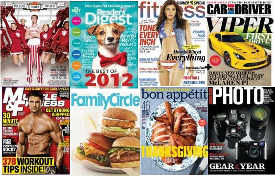 holiday magazine sale
