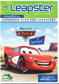 leapster cars learning game