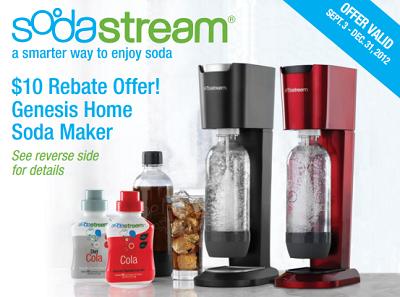 sodastream rebate