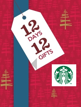 starbucks 12 days of christmas