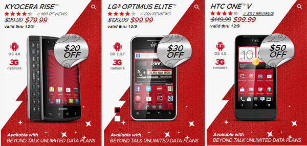 virgin mobile phone sale