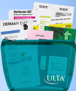 ulta free skin care kit