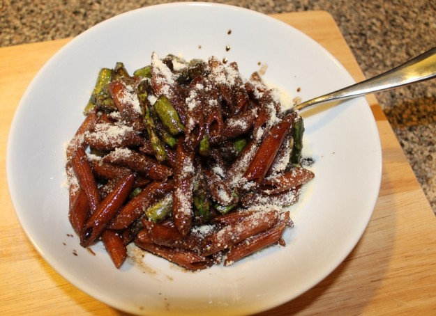 Balsamic Penne with Asparagus